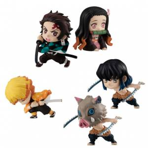 Demon Slayer: Kimetsu no Yaiba ADVERGE MOTION 10 Pack BOX [Bandai]