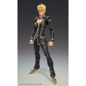 Super Action Statue GIORNO GIOVANNA Black Ver. JoJo's Bizarre Adventure WF2020 Limited Edition [Medicos Entertainment]