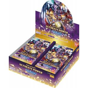 Digimon Card Game Booster ULTIMATE POWER 24 Pack BOX [Trading Cards]