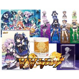 VVVtunia Emotional Edition Famitsu DX Pack 3D Crystal Set [PS4]