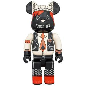 BE@RBRICK / Bearbrick ANNA SUI RED & BEIGE 1000% Limited Edition [Medicom Toy]