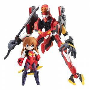 Desktop Army Rebuild of Evangelion Asuka Langley Shikinami & EVA-02 Limited Set [Megahouse]