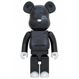 BE@RBRICK / Bearbrick NIKE SB 2020 BLACK 1000% Limited Edition [Medicom Toy]