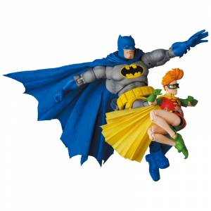 MAFEX BATMAN BLUE Ver. & ROBIN (The Dark Knight Returns) [MAFEX No.139]