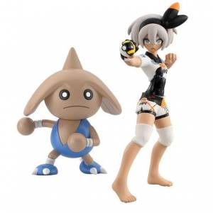 Pokemon Scale World Saitou (Bea) & Kapoerer (Hitmontop) Limited Edition [Bandai]