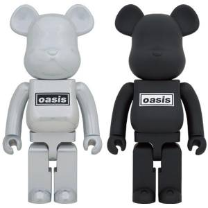 BE@RBRICK / Bearbrick OASIS (BLACK RUBBER COATING) 1000% Limited Edition [Medicom Toy]