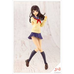 Sousai Shoujo Teien Yuuki Madoka Touou High School, Winter Uniform Plastic Model [Kotobukiya]