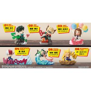 My Hero Academia DESKTOP HEROES 6 Pack BOX [Goods]
