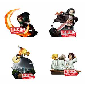 Puchirama Series Demon Slayer: Kimetsu no Yaiba Joukei no Hako Part.1 4 Pack BOX [Megahouse]