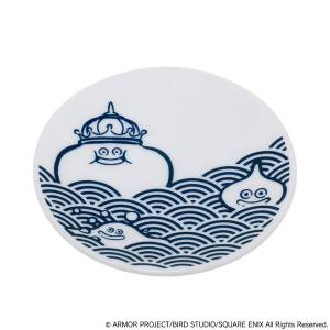 Dragon Quest Smile Slime Japanese Style Series Small Dish Blue Sea Waves[Goods]