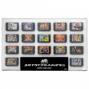 SEGA Mega Drive Cartridge Mini Complete Set Vol.1 [Goods]