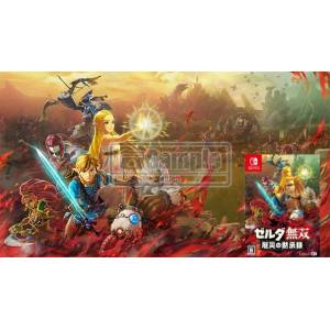 Hyrule Warriors: Age of Calamity Ebten Limited B3 Tapestry [Switch]