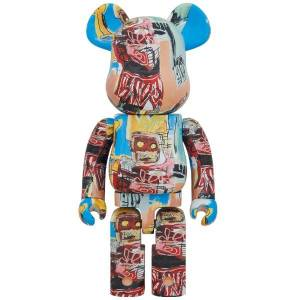 BE@RBRICK / BEARBRICK 1000% JEAN-MICHEL BASQUIAT 6TH Ver. LIMITED EDITION [Medicom Toy]