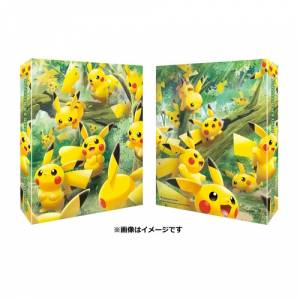 Pokemon Card Collection File Pikachu Forest [Trading Cards]