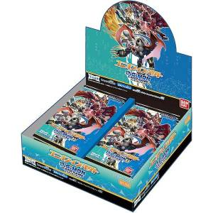 Digimon Card Game Booster Union Impact [BT-03] 24 Pack BOX [Trading Cards]