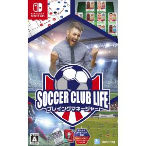 Soccer Club Life Playing Manager [Switch]