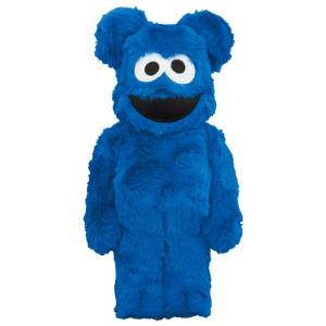 BE@RBRICK / BEARBRICK 100% & 400% COOKIE MONSTER Costume Ver. LIMITED SET [Medicom Toy]