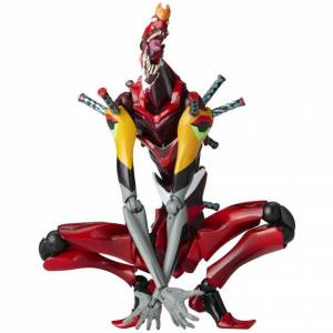 """Neon Genesis Evangelion -EVA-02 """"The Beast"""" 2nd form [Revoltech Yamaguchi No.90]"""