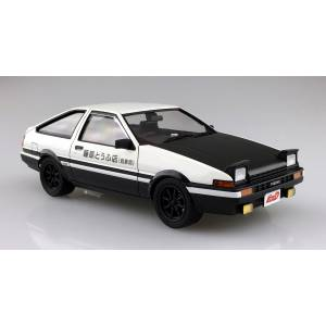 Pre-Painted Model No.I-01 Initial D Takumi Fujiwara AE86 Trueno Project D Design Plastic Model [Aoshima]
