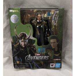 SH Figuarts Loki (The Avengers) Limited Edition (Box Slightly Damaged) [Bandai]