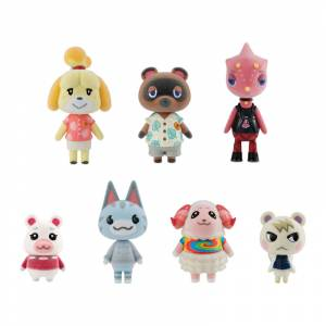 Animal Crossing: New Horizons Friend Doll 8Pack BOX (CANDY TOY) [Bandai]