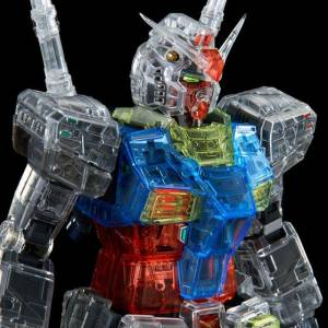 PG UNLEASHED 1/60 RX-78-2 Gundam Clear Color Body LIMITED EDITION [Bandai]