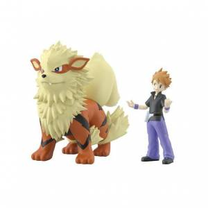 Pokemon Scale World - Green & Arcanine Limited set Reissue [Bandai]