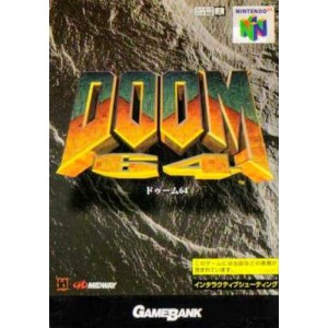 Doom 64 [N64 - used good condition]