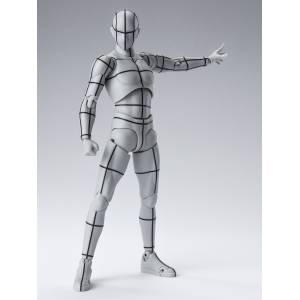SH Figuarts Body kun Wireframe Gray Color [Bandai]