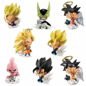 Dragon Ball Super Warriors Figure 4 12Pack BOX (CANDY TOY) [Bandai]