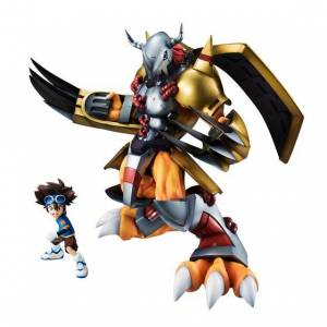 Precious GEM Series Digimon Adventure WarGreymon & Tai Kamiya - Reissue Limited Edition [MegaHouse]