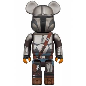 BE@RBRICK / BEARBRICK MANDALORIAN 1000% LIMITED EDITION [Medicom Toy]
