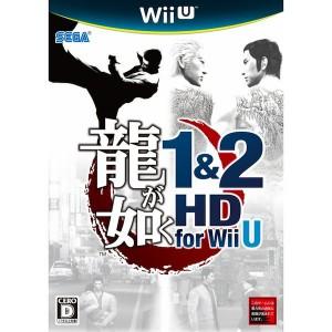 Ryu Ga Gotoku / Yakuza 1 & 2 HD Edition [Wii U]