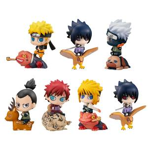 "Petit Chara! NARUTO Shippuden New Color ""Summoning Technique"" 8 BOX SET [MegaHouse]"