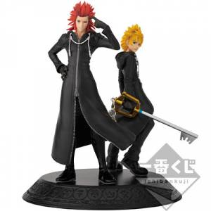 Ichiban Kuji - KINGDOM HEARTS Second Memory Axel & Roxas Statue [Banpresto]