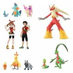 Pokemon Scale World Hoenn Region set [Bandai]