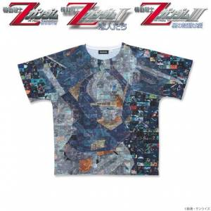 Movie version Mobile Suit Z Gundam Full Panel T-shirt Gundam Mk-II Limited Edition SIZE L [Goods]