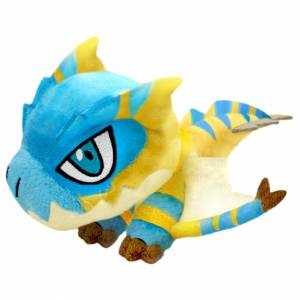 Monster Hunter Rise Deformed Plush Tigrex [Plush Toy]