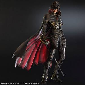 Space Pirate Captain Harlock - Harlock [Play Arts Kai]