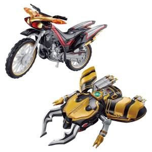 SO-DO CHRONICLE Kamen Rider Kuuga Beat Chaser 2000 & Armored Machine Gouram Set LIMITED EDITION [Bandai]
