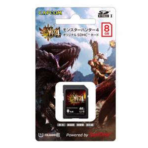 Monster Hunter 4  - SDCH Card(8GB) [Goods]