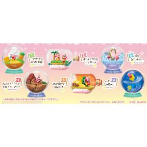 Kirby's Dream Land Terrarium Collection 6 Pack BOX CANDY TOY [Rement]