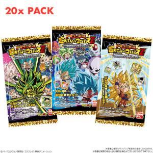 Dragon Ball Chou Senshi Sticker Wafer Z 18 20Pack BOX (CANDY TOY) [Bandai]