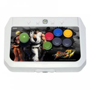 Fighting Stick EX2 - Street Fighter IV Official Stick + flyers (