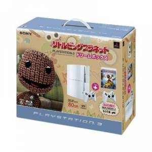 PlayStation 3 80GB Little Big Planet - Ceramic White [Brand New]
