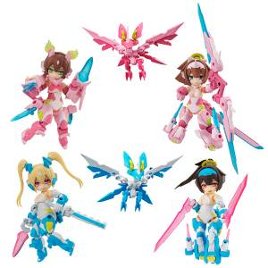 Desktop Army Megami Device Shura Series Sakuraoni Aoi 4 pack box [Megahouse]