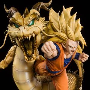 Figuarts ZERO Dragon Ball Z Super Saiyan 3 Son Goku Dragon Fist Explosion LIMITED EDITION [Bandai]