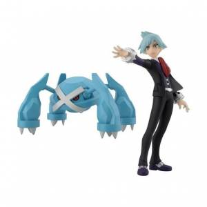 Pokemon Scale World Hoenn Region Steven Stone and Metagross Limited Edition [Bandai]