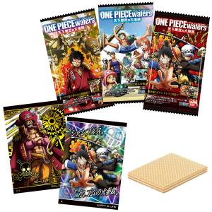 ONE PIECE Wafer Vol.8 20Pack BOX (CANDY TOY) [Bandai]