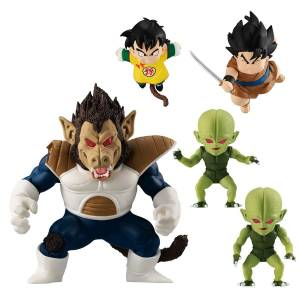 DRAGONBALL ADVERGE MOTION Great Ape Vegeta Set LIMITED (CANDY TOY) [Bandai]